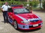 Australian police car, queensland equivalent