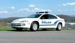 Bristol Virginia Police Car
