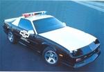 Camaro police car2