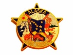Alaska State Police Highway Patrol Patch