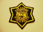 Arkansas State Police Highway Patrol Patch