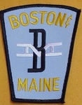 BOSTON & MAINE RAILROAD POLICE PATCH NICE