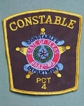BRAZORIA TEXAS PCT 4 CONSTABLE POLICE PATCH