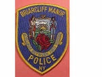 BRIARCLIFF MANOR NY NEW YORK POLICE PATCH