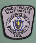BRIDGEWATER MA STATE COLLEGE POLICE PATCH NICE