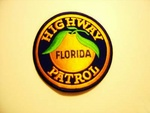 Florida State police Highway Patrol patch