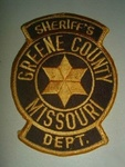 GREEN COUNTY MISSOURI SHERIFFS DEPARTMENT