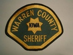 IOWA WARREN COUNTY SHERIFF