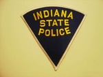 Indiana State police Highway Patrol patch