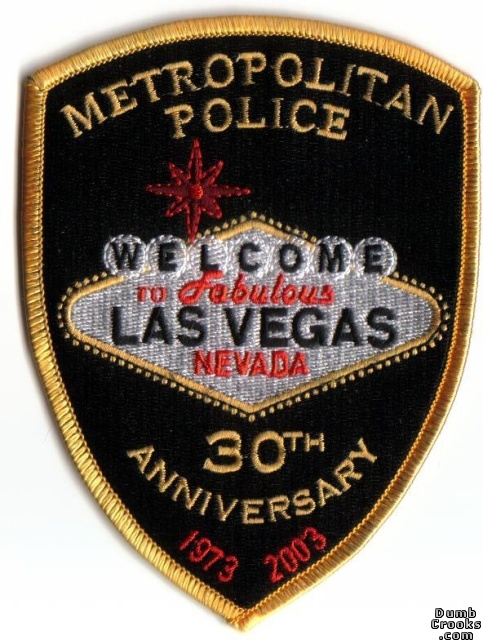 Las Vegas metro police 30th anv patch