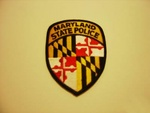 Maryland State police Highway Patrol patch