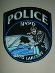NYPD AUTO LARCNEY