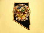 Nevada State police Highway Patrol patch