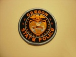 Oregon State police Highway Patrol patch