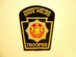 Pennsylvania State police Highway Patrol patch