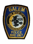 SALEM THE WITCH CITY POLICE BIKE UNIT