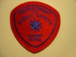 Texas State police Highway Patrol patch